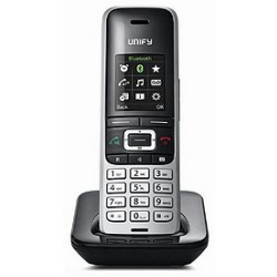Unify OpenScape S5 IP phone Black Silver Wireless handset