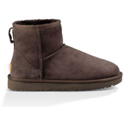 UGG Women's Classic Mini II Sheepskin Boots Chocolate UK 8