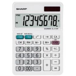 Sharp El310w Desktop Calc 8 Digit