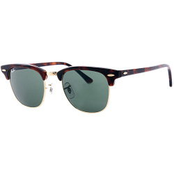 Ray Ban Sunglasses Clubmaster RB 0RB3016 49 W0366 brown Sunglasses for ladies